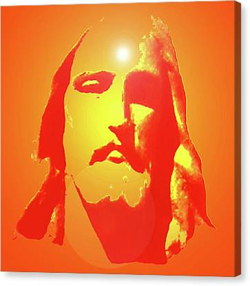 Jesus Christ No. 01 Canvas Print by Ramon Labusch