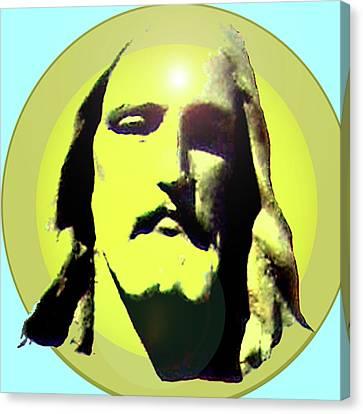 Jesus Christ No. 03 Canvas Print by Ramon Labusch