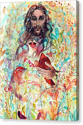 Jesus Christ Your Most Memorable Dream Will Soon Come True Canvas Print by Ashleigh Dyan Bayer