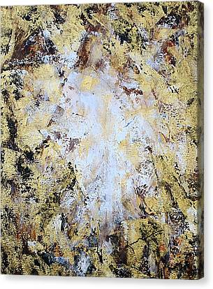 Jesus In Disguise Canvas Print by Kume Bryant