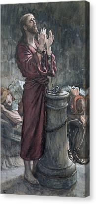 Jesus In Prison Canvas Print by Tissot