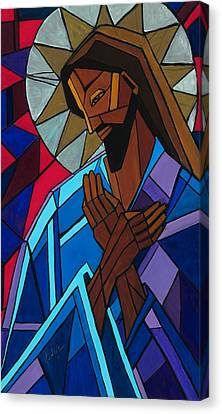 Jesus Canvas Print by Mary DuCharme