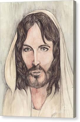 Jesus Of Nazereth Canvas Print by Morgan Fitzsimons