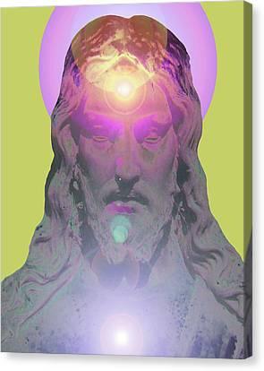 Jesus Portrait No. 03 Canvas Print by Ramon Labusch
