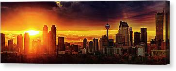 Jewel Of The Foothills Canvas Print by John Poon