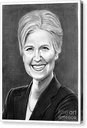 Jill Ellen Stein Canvas Print by Murphy Elliott