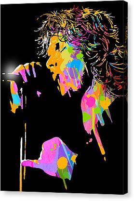 Jim Morrison Canvas Print by Paul Sachtleben