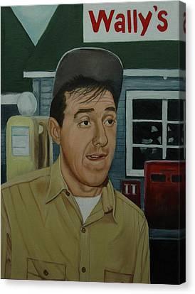 Jim Nabors As Gomer Pyle Canvas Print by Tresa Crain