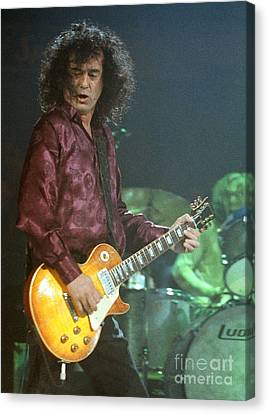 Jimmy Page-0005 Canvas Print by Timothy Bischoff
