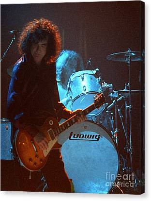 Jimmy Page-0010 Canvas Print by Timothy Bischoff
