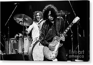 Jimmy Page-0057 Canvas Print by Timothy Bischoff