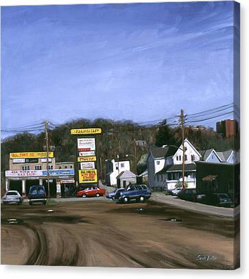 Jimmy's Alltire Canvas Print by Sarah Yuster