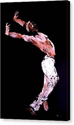 Jive Dancer Canvas Print by Ana Bikic