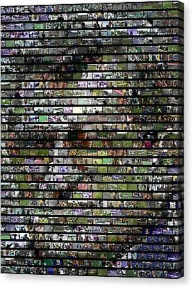 Joe Paterno Mosaic Canvas Print by Paul Van Scott