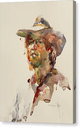 John Canvas Print by Becky Kim
