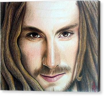 John Butler Canvas Print by Danielle R T Haney