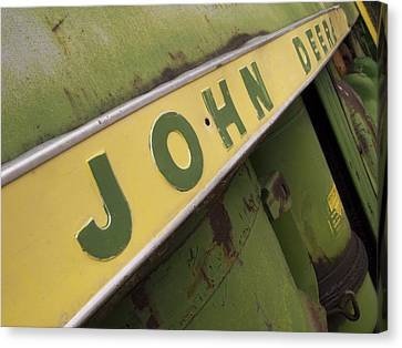John Deere Canvas Print by Jeff Ball