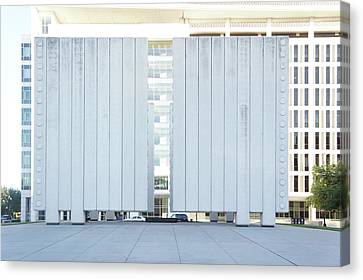 John F. Kennedy Memorial Plaza Canvas Print by Art Spectrum