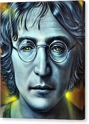 John Lennon Canvas Print by Andrea Kollo