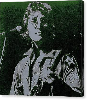 John Lennon Canvas Print by David Patterson