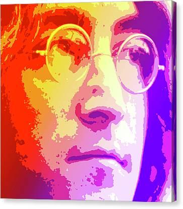 John Lennon Canvas Print by Greg Joens