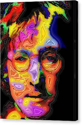 John Lennon Canvas Print by Stephen Anderson