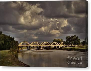 John Mack Bridge Canvas Print by Fred Lassmann