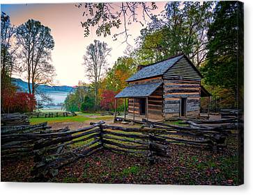 John Oliver Place In Cades Cove Canvas Print by Rick Berk