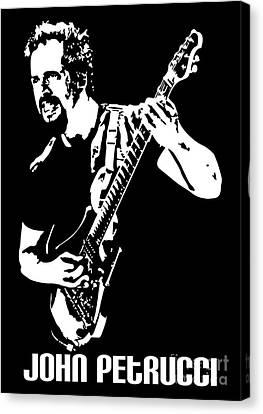 John Petrucci No.01 Canvas Print by Caio Caldas