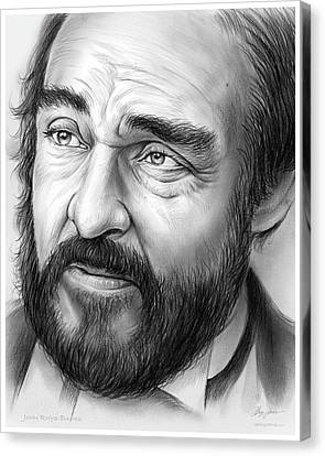 John Rys-davies Canvas Print by Greg Joens