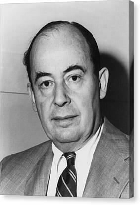 John Von Neumann 1903-1957 Canvas Print by Everett