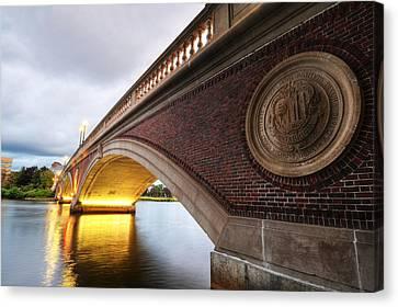 John Weeks Bridge Charles River Harvard Square Cambridge Ma Canvas Print by Toby McGuire