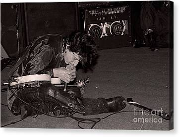 Johnny Thunders Canvas Print by David Plastik