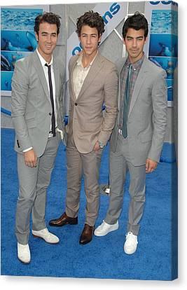 Jonas Brothers, Kevin Jonas, Nick Canvas Print by Everett