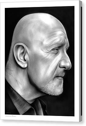 Jonathan Banks Canvas Print by Greg Joens