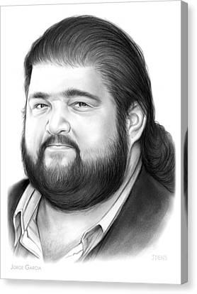 Jorge Garcia Canvas Print by Greg Joens