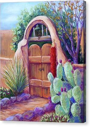 Josefina's Gate Canvas Print by Candy Mayer