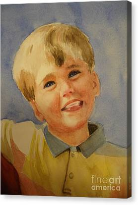 Joshua's Brother Canvas Print by Marilyn Jacobson
