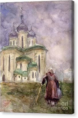 Journey Canvas Print by Svetlana Novikova