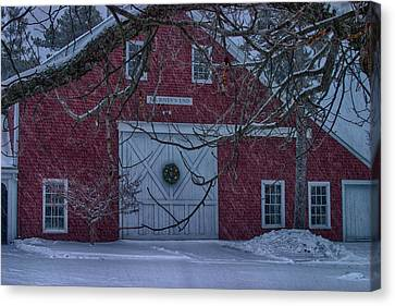 Journeys End Maine Canvas Print by Jeff Folger