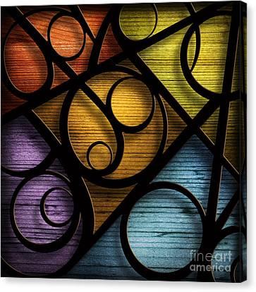 Joy-joy-joy-abstract Canvas Print by Shevon Johnson