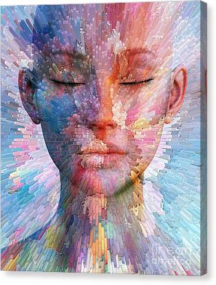 Joy Canvas Print by Jacky Gerritsen