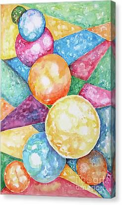 Joy Canvas Print by Seema Kumar