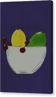 Juicy Fruit Canvas Print by Katie Slaby