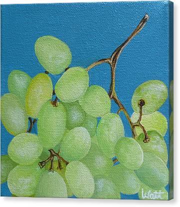 Juicy Grapes Canvas Print by Tammy Watt
