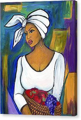 Juju Canvas Print by Diane Britton Dunham
