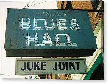 Juke Joint Canvas Print by Jame Hayes