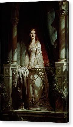 Juliet, 1877 Canvas Print by Thomas-Francis Dicksee