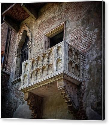 Juliette's Balcony Canvas Print by Lisa OConnor