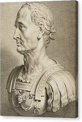 Julius Caesar Canvas Print by Boetius Adams Bolswert